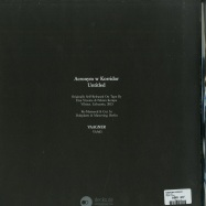 Back View : Acronym & Korridor - UNTITLED - Vaagner / VAA03