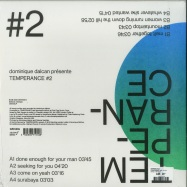 Back View : Temperance - TEMPERANCE VOL. 2 (LP) - Ostinato / OST005LP