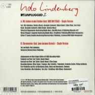 Back View : Udo Lindenberg - WIR ZIEHEN IN DEN FRIEDEN (MTV UNPLUGGED 2) (7 INCH) - Warner / 8782144