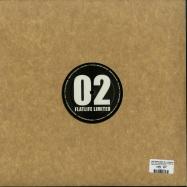 Back View : Jack Wax & Mike Volt / Posthuman - FLATLIFE LIMITED 2 (COLOURED VINYL) - Flatlife Records / FLATLTD002