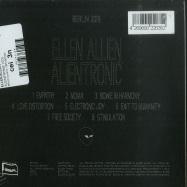 Back View : Ellen Allien - ALIENTRONIC (CD) - BPitch Control / BPX001CD