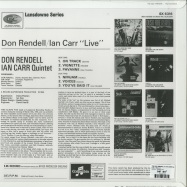 Back View : The Don Rendell & Ian Carr Quintet - LIVE (180G LP) - Jazzman / JMANLP110X
