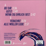 Back View : Das Moped - ALLE WOLLEN LIEBE (10 INCH EP) - Epic / 19075943501