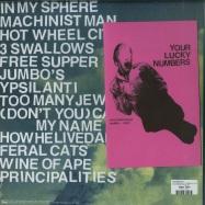 Back View : Protomartyr - NO PASSION ALL TECHNIQUE (LTD BLUE 180G LP + MP3) - Domino Records / Rewiglp154x