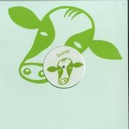 Back View : Javonntte - THE SHOW EP (GREEN VINYL) - Burek Records / BRK019