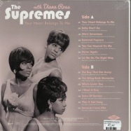 Back View : The Supremes with Diana Ross - YOUR HEART BELONGS TO ME (180G LP) - Wagram / 05148451