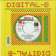 Back View : Garnett Silk - COMPLAIN / GIVE I STRENGTH (7 INCH) - VP Records / VP9629