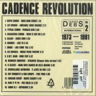Back View : Various Artists - CADENCE REVOLUTION: DISQUES DEBS INTERNATIONAL 2 (CD) - Strut Records / STRUT189CD / 05189772