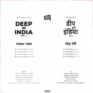 Back View : Todh Teri - DEEP IN INDIA VOL.7 (LIMITED) - Todh Teri / TODH007