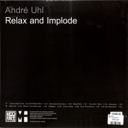 Back View : Andre Uhl - RELAX AND IMPLODE (LP) - Martin Hossbach / 12BACH13