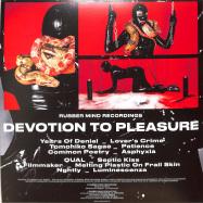 Back View : Various Artists - DEVOTION TO PLEASURE (RED VINYL) - Rubber Mind / RMR02