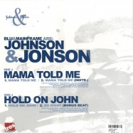 Back View : Johnson & Johnson - MAMA TOLD ME - Tres / TR396049