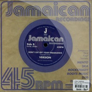 Back View : Linval Thompson - DONT CUT OFF YOUR DREADLOCK (7 INCH) - Jamaican / jr7005