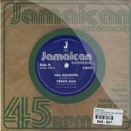 Back View : Prince Alla - ROYAL THRONE ROOM / HAIL RASTAFARI (7 INCH) - Jamaican Recordings / jr7013