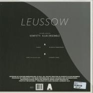 Back View : Konfetti Klub Ensemble - LEUSSOW EP - Acker Records / Acker 046