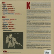 Back View : James Brown & more - NIGHT TRAIN - INSTRUMENTALS (RED 180G LP) - Not Now Music / notlp231