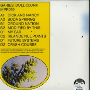 Back View : Garies - DULL CLUNK (2X12 INCH) - Major Problems / MPR019