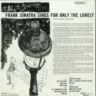 Back View : Frank Sinatra - SINGS FOR ONLY THE LONELY (180G 2X12 LP + MP3) - Capitol / 6756971