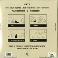 Back View : The Organism & Moscoman - RITE EP - Disco Halal / DH018