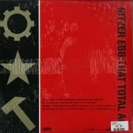 Back View : Nitzer Ebb - THAT TOTAL AGE (CLEAR RED 2LP) - Pylon Records / PYLON 42 / 00132644