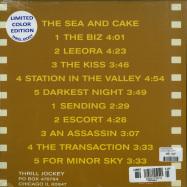Back View : The Sea And Cake - THE BIZ (LTD WHITE LP + MP3) - Thrill Jockey / THRILL026X
