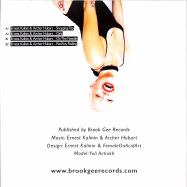 Back View : Ernest Kalinin & Archer Hubart - GIRLS EP - Brook Gee Records / BG059