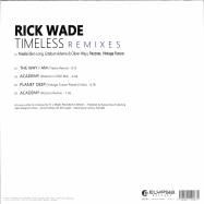 Back View : Rick Wade - TIMELESS REMIXES - Elypsia Records / ELY06112