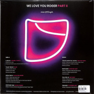 Back View : Various Artists - WE LOVE YOU ROGER PART II (LP) - Neon Finger Records / NF20