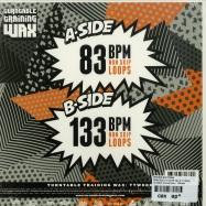 Back View : DJ Ritchie Rufftone - PRACTICE YO! CUTS VOL. 5 (SILVER 7 INCH) - Turntable Training Wax / TTW008