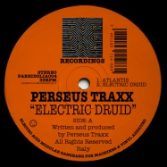 Back View : Perseus Traxx - ELECTRIC DRUID - Pareidolia Recordings / PAREIDOLIA004