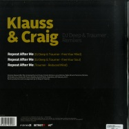 Back View : Klauss & Craig - DJ DEEP & TRAUMER REMIXES - Planet E / PLE65395