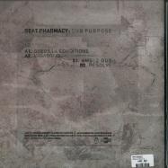 Back View : Beat Pharmacy - DUB PURPOSE EP - Khaliphonic / Khaliphonic011
