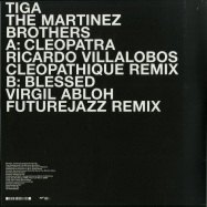 Back View : Tiga & The Martinez Brothers - BLESSED (RICARDO VILLALOBOS CLEOPATHIQUE REMIX) B-STOCK - Turbo Recordings / Turbo202