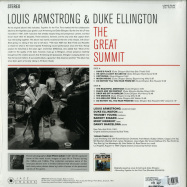 Back View : Louis Armstrong - THE GREAT SUMMIT (180G LP) - Jazz Images / 1083098EL1