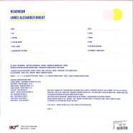 Back View : James Alexander Bright - HEADROOM (LP) - !K7 / K7392LP / 05194941