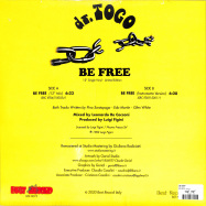 Back View : Dr Togo - BE FREE - Best Record / Bstx075