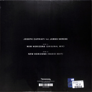 Back View : Joseph Capriati feat James Senese - NEW HORIZONS - Redimension / REDIMENSION012
