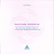 Back View : Lauren Lo Sung - MOMENTUM (EAST END DUBS RMX) - Lolife / LOLIFE003