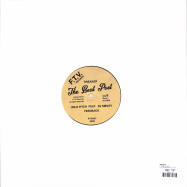 Back View : Sneaker - THE BEAT POET - From The Vaults Records / FTVR07