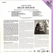 Back View : Billie Holiday - LADY IN SATIN (180G LP + CD) - Groove Replica / 77018 / 9751955