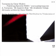 Back View : Oscar Mulero - TORMENTA EP (RED MARBLED VINYL / REPRESS) - PoleGroup / POLEGROUP060LTD