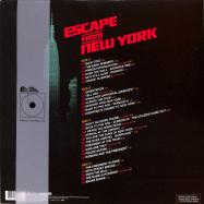 Back View : John Carpenter - ESCAPE FROM NEW YORK O.S.T. (LP) - Silva Screen / SILLP1493