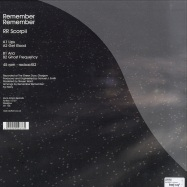 Back View : Remember - RR SCORPII - Rock Action / rockact52