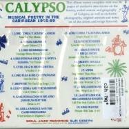 CALYPSO: MUSICAL POETRY IN THE CARIBEAN 1955-69 (2XCD)