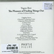 Back View : Vagon Brei - THE PLEASURE OF FINDING THINGS OUT (CD) - Photic Fields / PF10