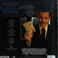 Back View : Patrick Doyle - MURDER ON THE ORIENT EXPRESS O.S.T. (LTD BLUE 180G 2X12 LP) - Music on Vinyl / MOVATM182