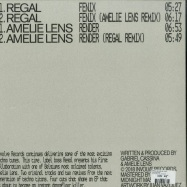 Back View : Regal & Amelie Lens - INVOLVE 020 - Involve Records / INV020RP