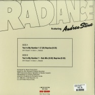 Back View : Radiace feat. Andrea Stone - YOURE MY NUMBER 1 - Best Record Italy / BST-X049