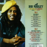 Back View : Bob Marley - THE KING OF JAMAICA (LP) - Wagram / 05175331