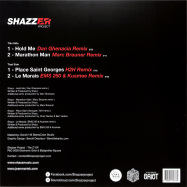 Back View : Shazz - THE - Shazzer Project / EGBS006